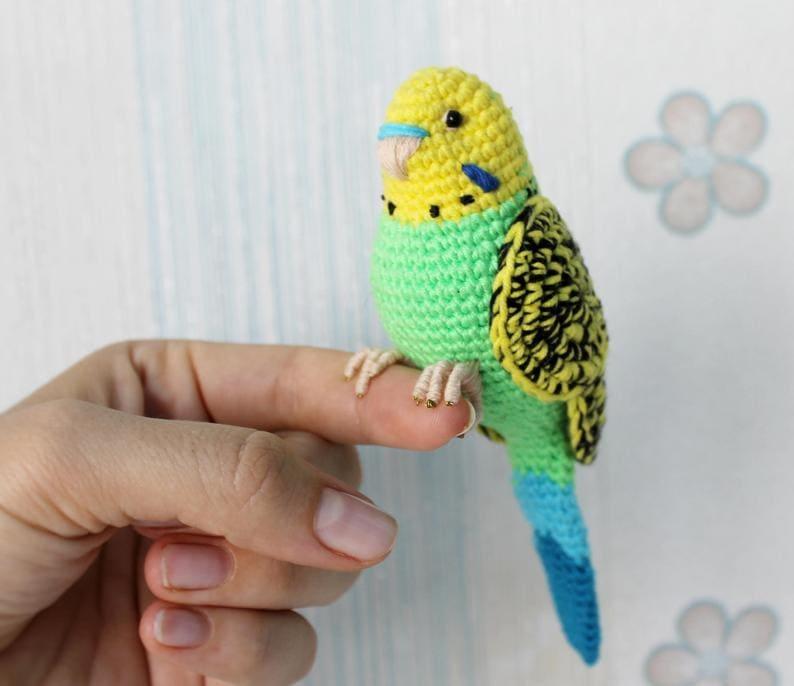 Green Budgie Crochet Pattern