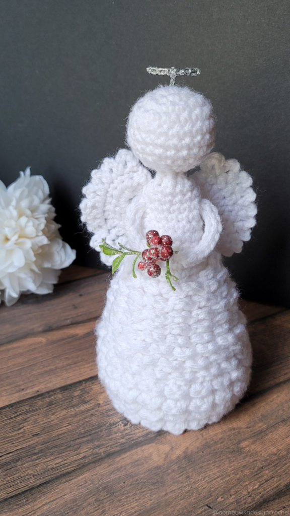 Holly Angel Christmas Crochet Pattern