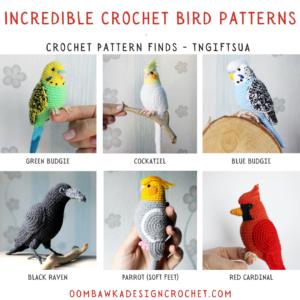 Incredible Crochet Bird Patterns - Crochet Pattern Finds