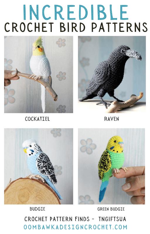 Incredible Crochet Bird Patterns