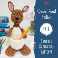 Kangaroo Pencil Holder - Wednesday Link Party 408