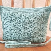 Lace Panel Crossbody Bag Pattern