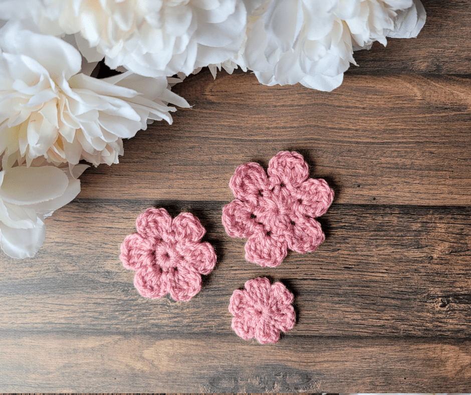 Little Flowers - without buttons or beads