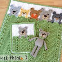 Sleep Tight Teddy Bear Set - Christine N