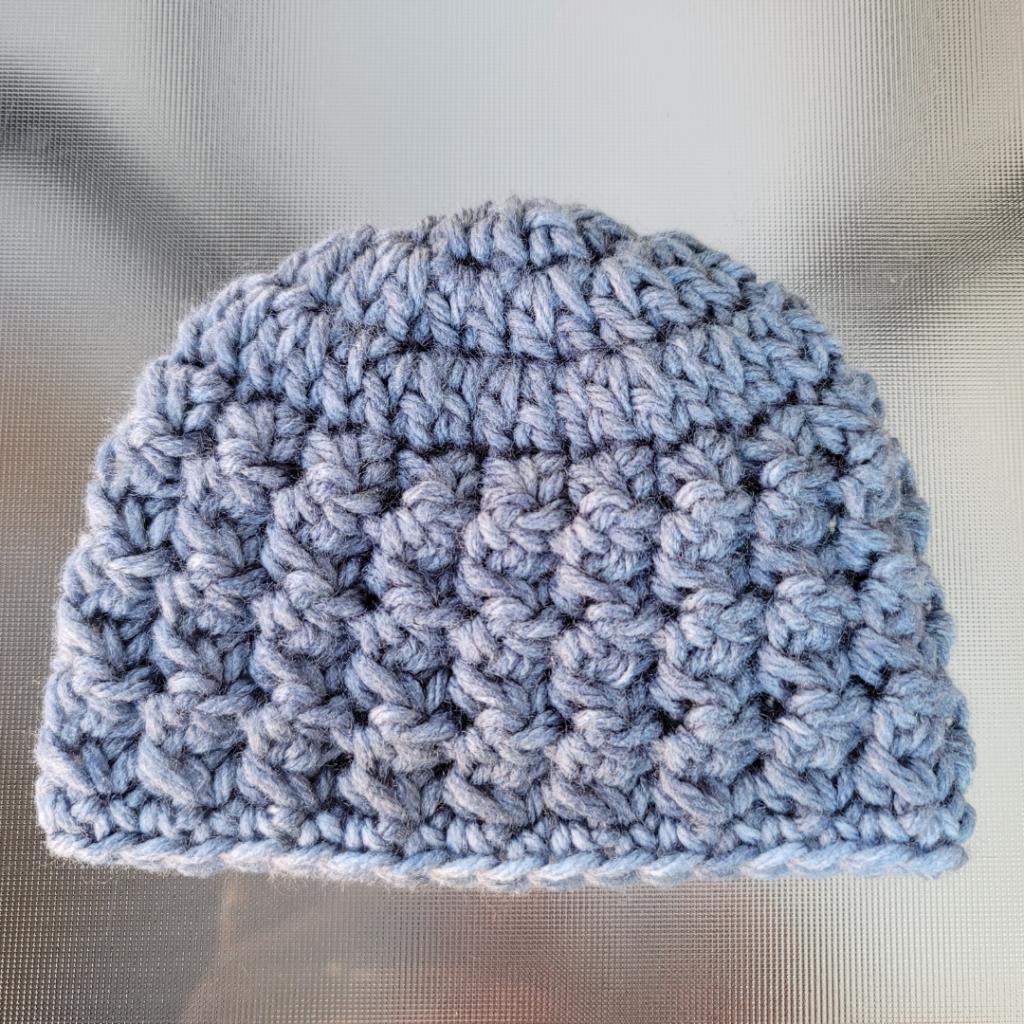 Mabel Hat Newborn Baby Pattern - Oombawka