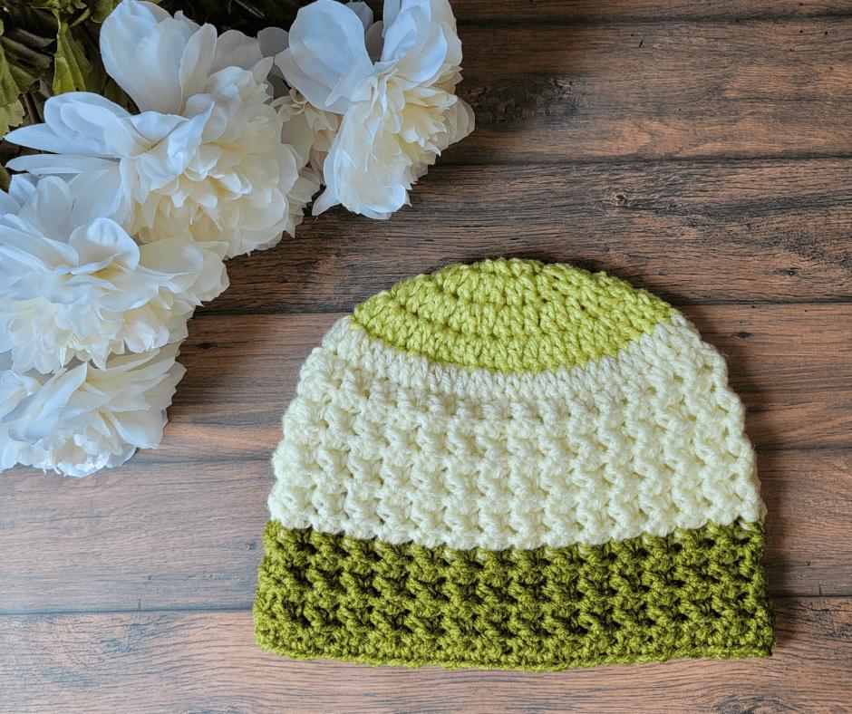 Mabel Crochet Hat Pattern - Rhondda Mol