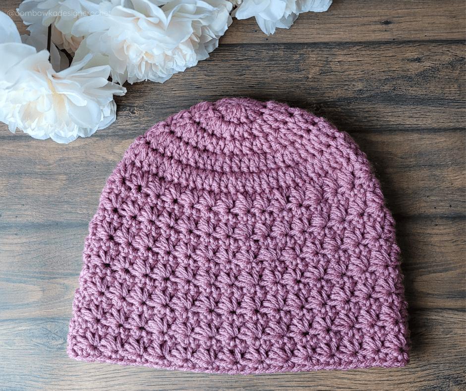 Marguerite Stitch Hat - Oombawka Crochet
