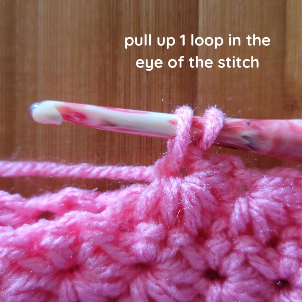 Close-up Marguerite Stitch Tutorial 1