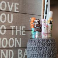 Mason Jar Cover Crochet Pattern - Rhondda Mol ODC