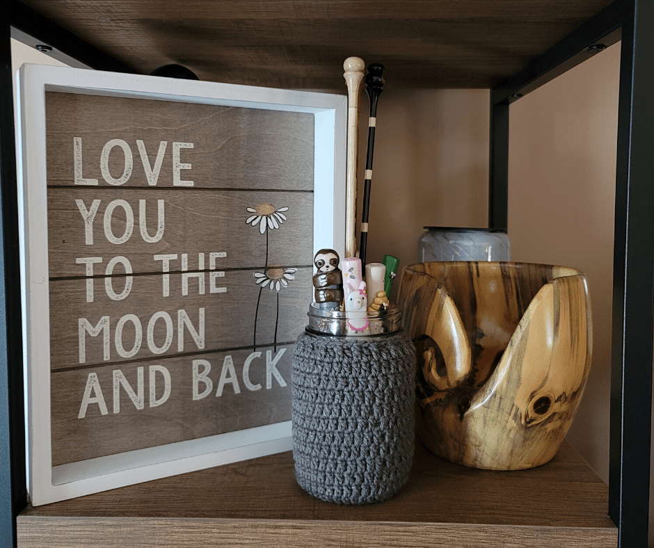 Mason Jar Cover Crochet Pattern - Rhondda Mol
