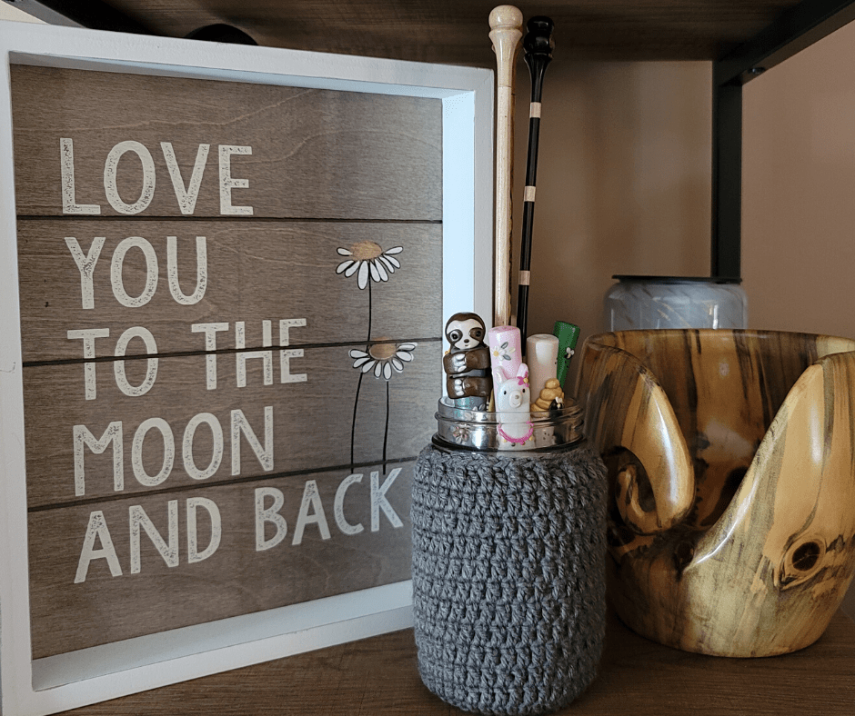 Mason Jar Cover Pattern- Rhondda Mol