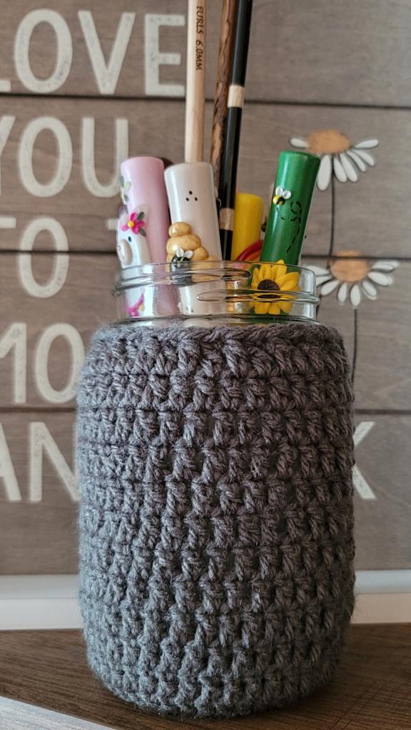 Mason Jar Cozy Pattern - Rhondda Mol