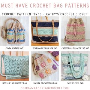 Must Have Crochet Bag Patterns - Crochet Pattern Finds