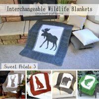 Interchangeable Wildlife Blankets