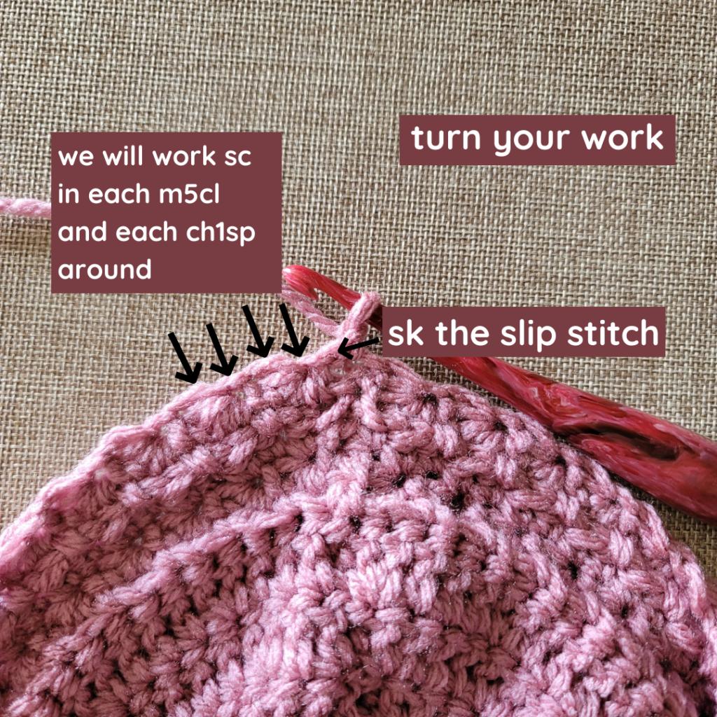 Single Crochet Round