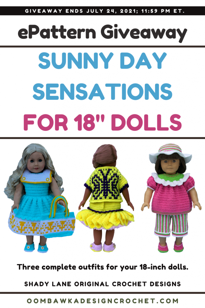 Sunny Day Sensations ePattern - Shady Lane Pattern Review and Giveaway