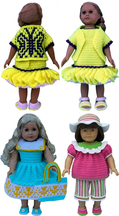 Sunny Day Sensations for 18-Inch Dolls Pattern Booklet