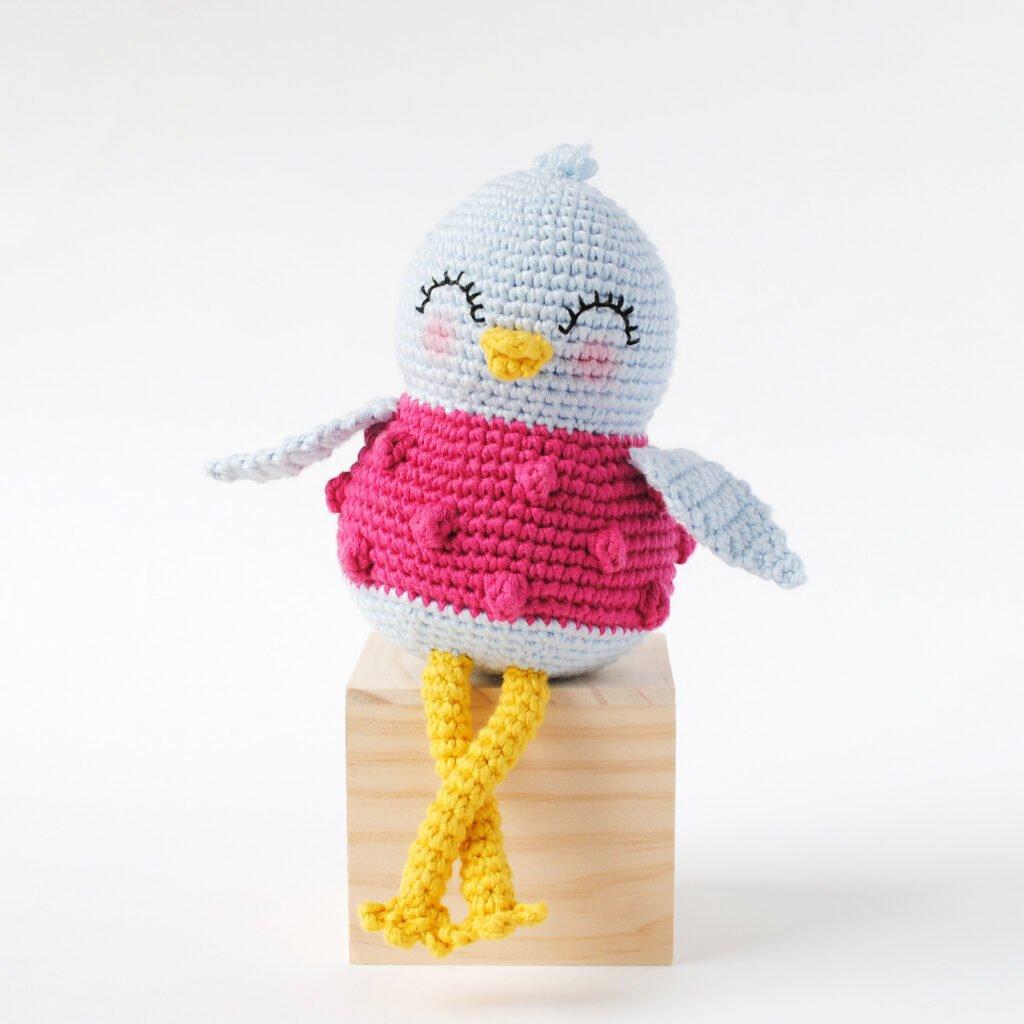 Sweet Bird Amigurumi - Free Pattern Friday