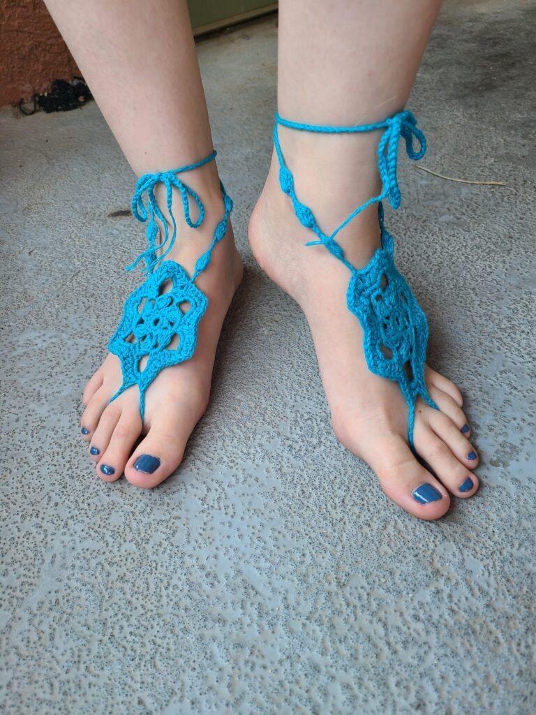 April Donk - Finding Summer Barefoot Sandals