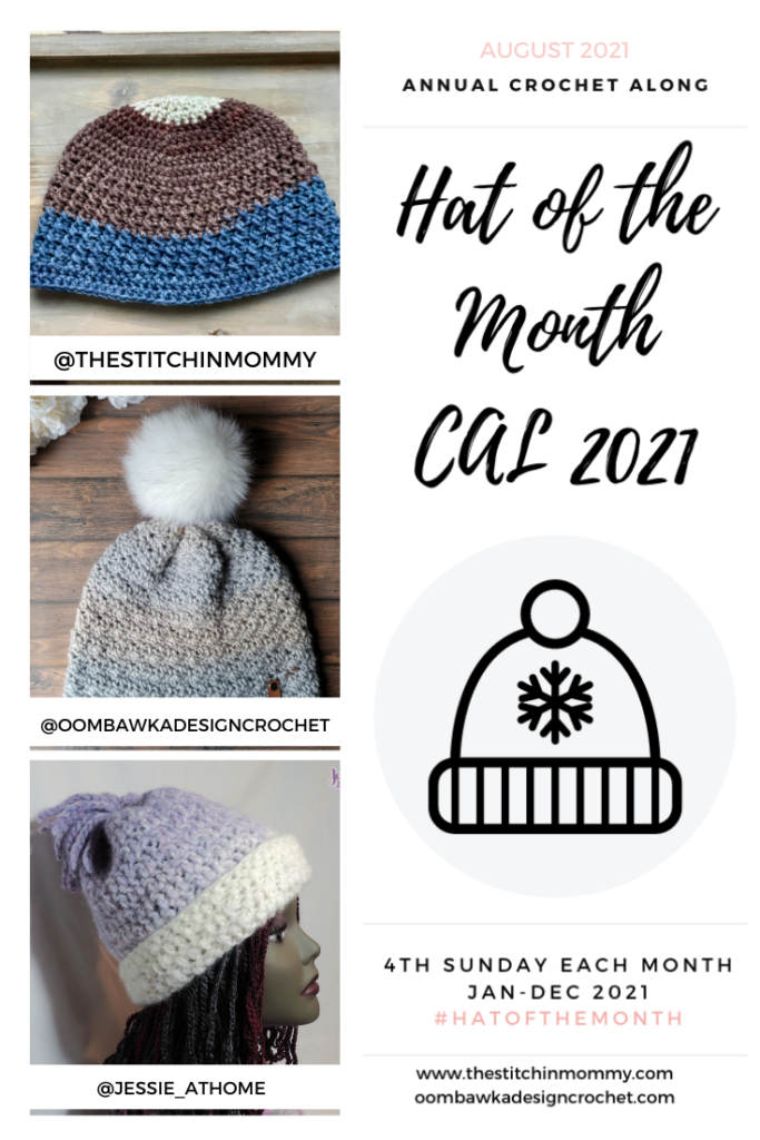 August Hat of the Month CAL 2021 PIN