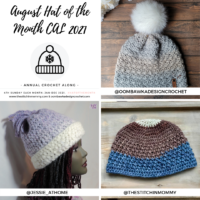 August Hat of the Month Crochet Along
