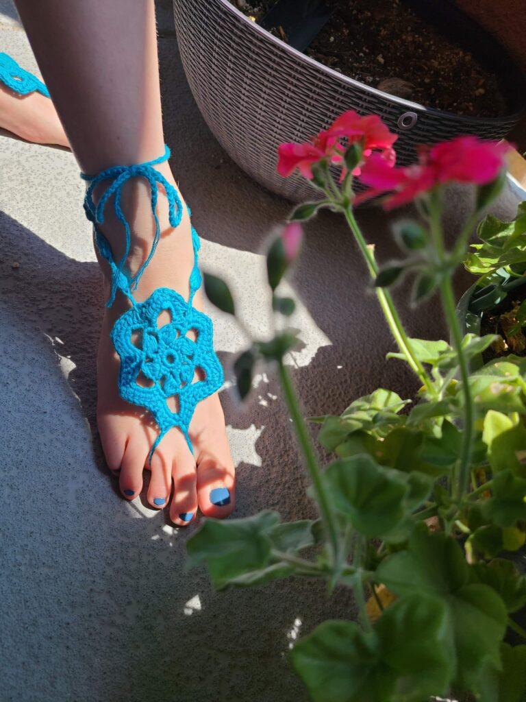 Barefoot Sandals - Finding Summer - April Donk