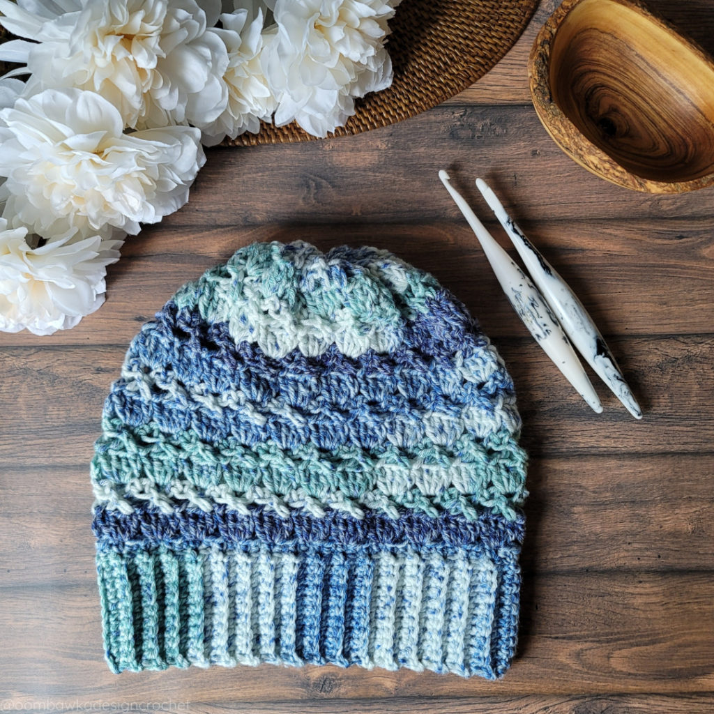 Carolyn Slouch Hat Crochet Pattern - Oombawka