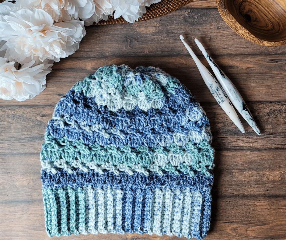 Carolyn Slouch Hat - Oombawka Crochet