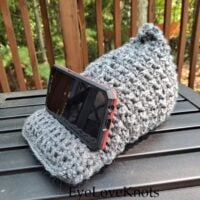 Crochet Tablet Stand - Link Party 410