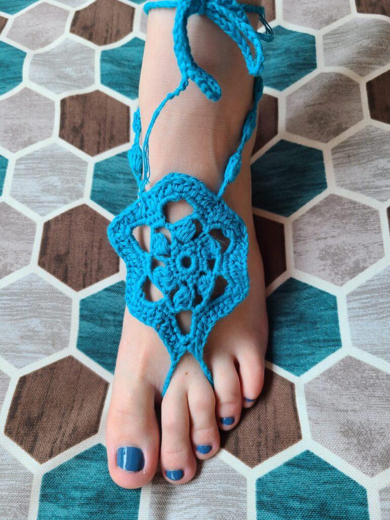 Finding Summer - Barefoot Sandals - April Donk