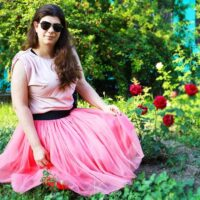 How to make a tulle skirt - Wednesday Link Party 411