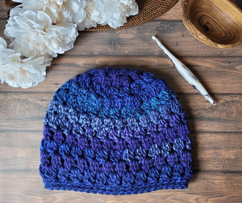 Morning Glory Crochet Hat - Oombawka Crochet