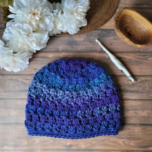 Morning Glory Crochet Hat Pattern - Oombawka