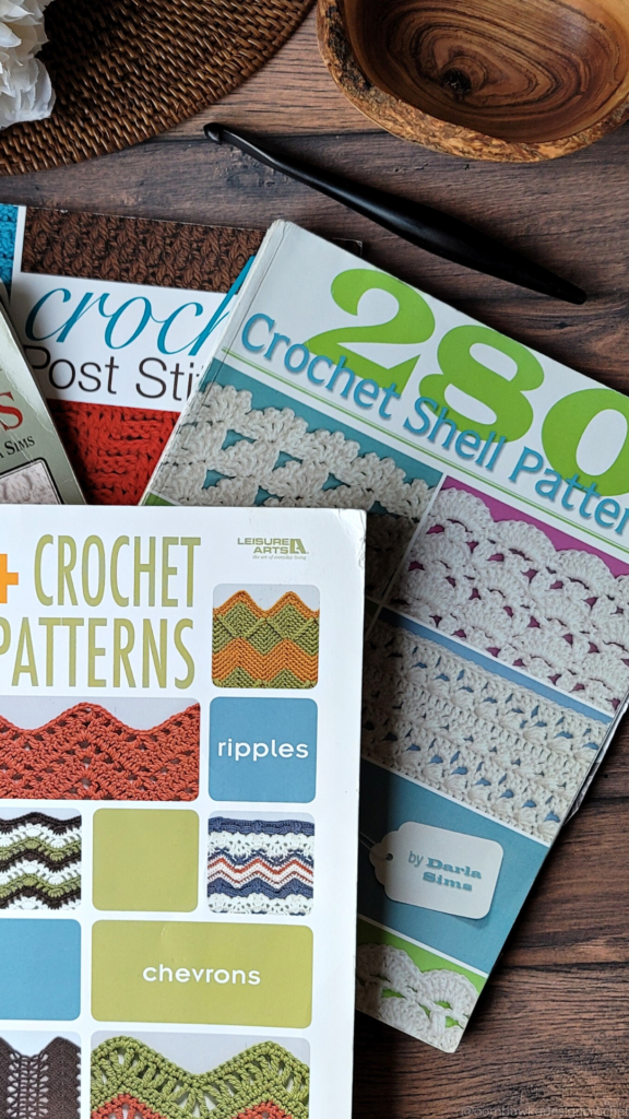 Old Favorite Crochet Stitch Dictionaries