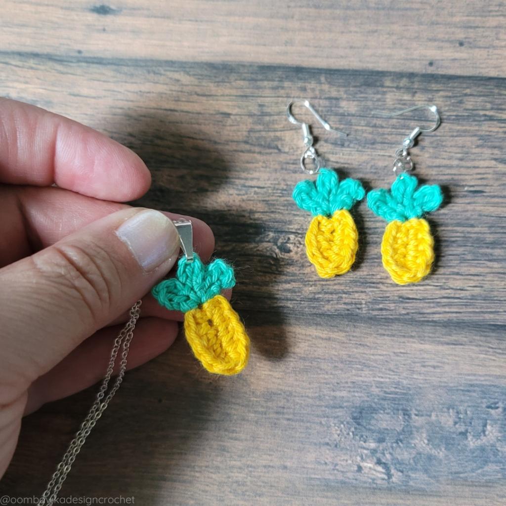 Quick Summer Pineapples Crochet Pattern