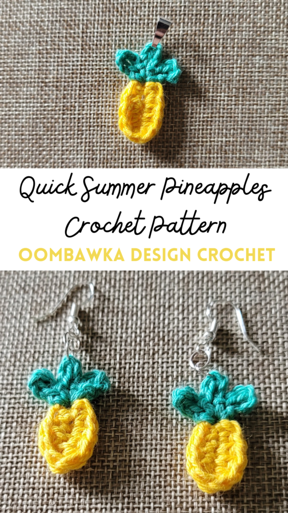 Quick Summer Pineapples Pattern