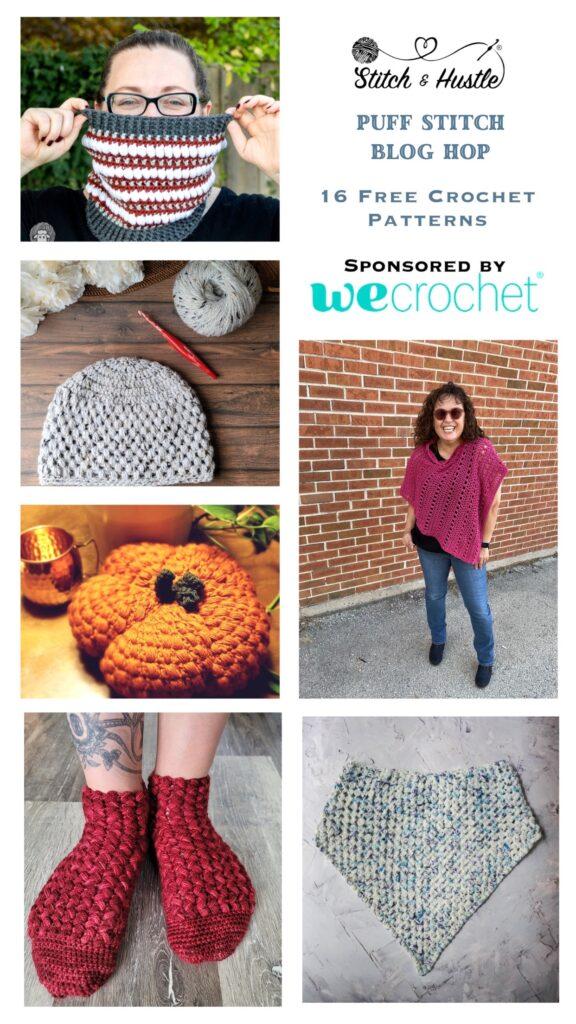 2021 Puff Stitch Crochet Pattern Blog Hop