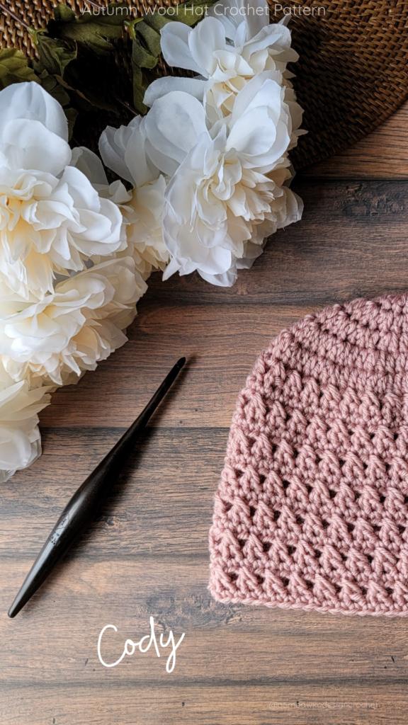 Cody Autumn Wool Hat Pattern 2 Child Sizes - OombawkaDesign