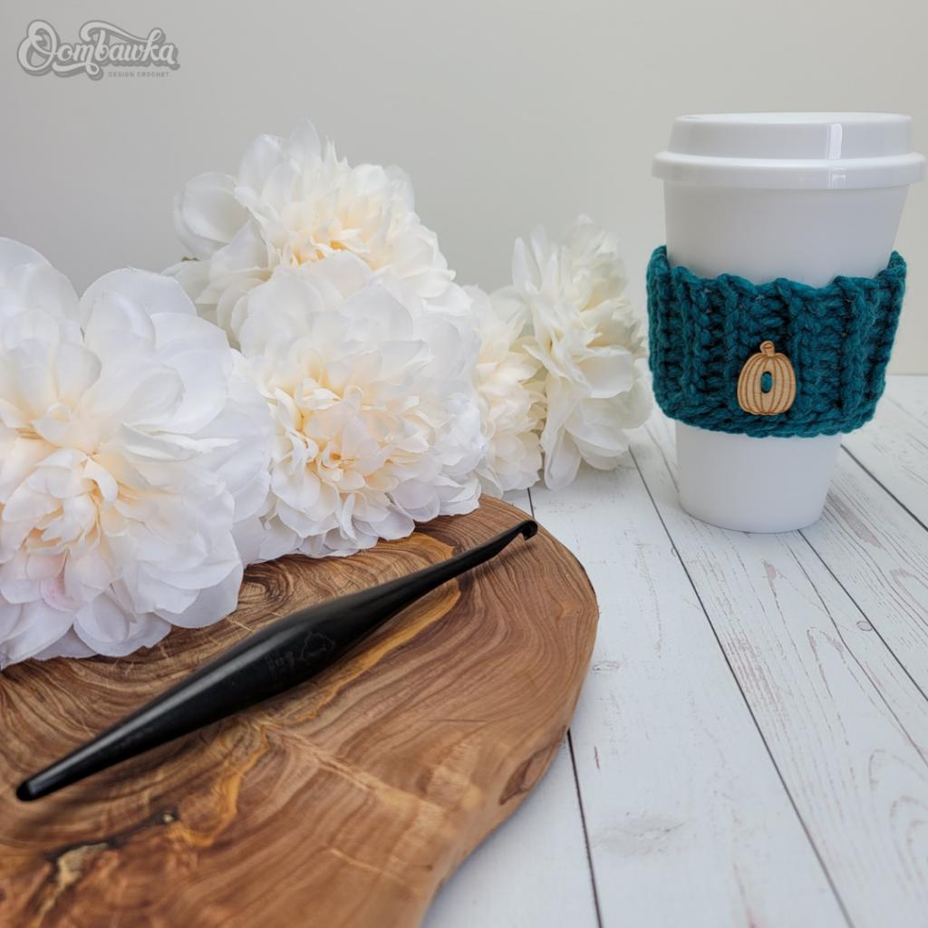 Coffee Cup Sleeve Pattern OombawkaDesignCrochet