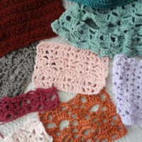 Crochet Swatches Tagging - Link Party 417