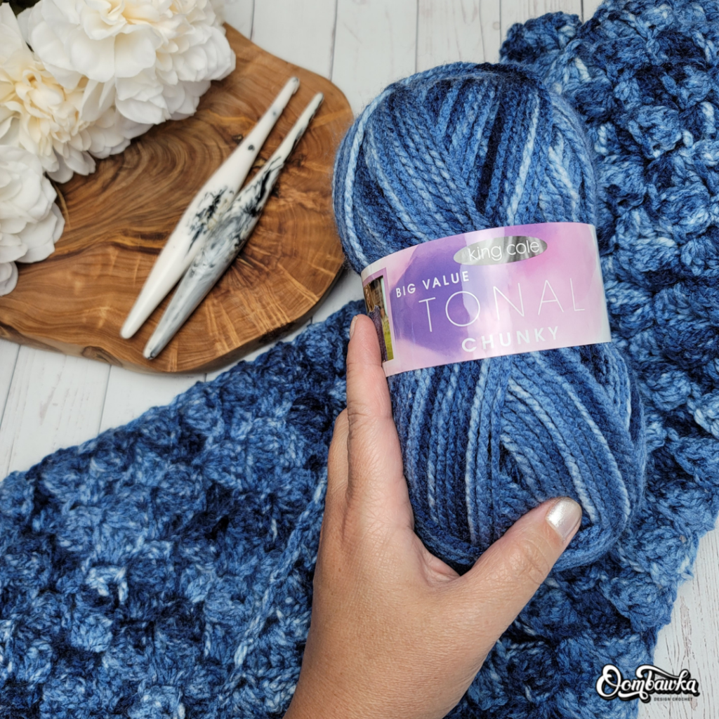 Easy Does It Textured Scarf Pattern