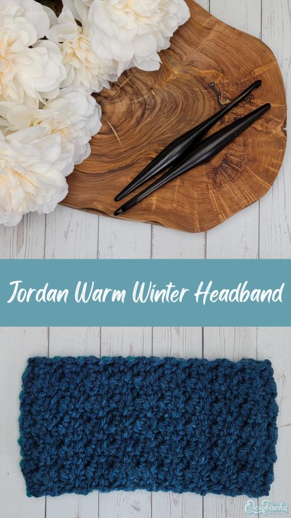 Jordan Warm Winter Headband Pattern - Rhondda Mol