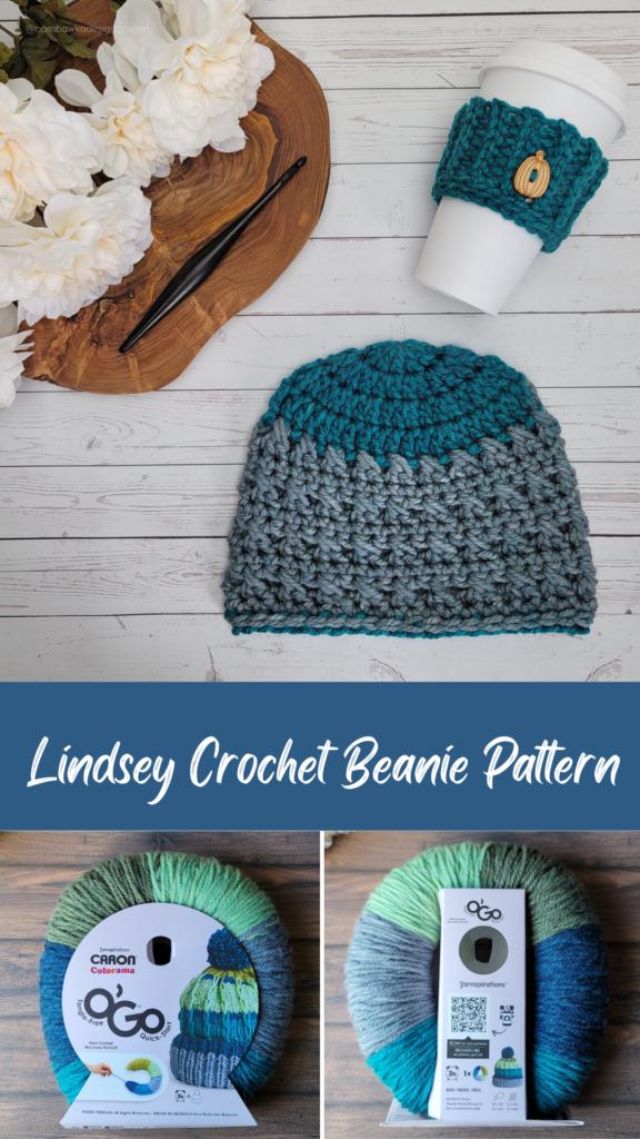 Lindsey Crochet Beanie Pattern ODC