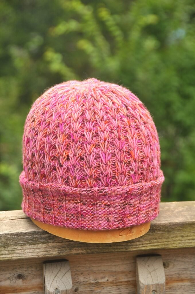 Pink Speckled Constellate Hat - Link Party 418
