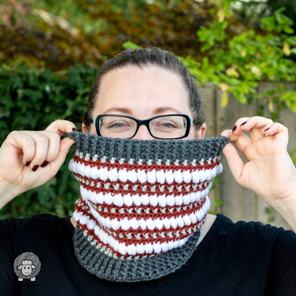 Puff Cowl Pattern The Loopy Lamb