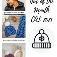 September 2021 Hat of the Month Patterns