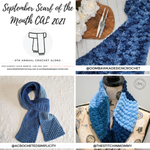September Scarf of the Month CAL 2021