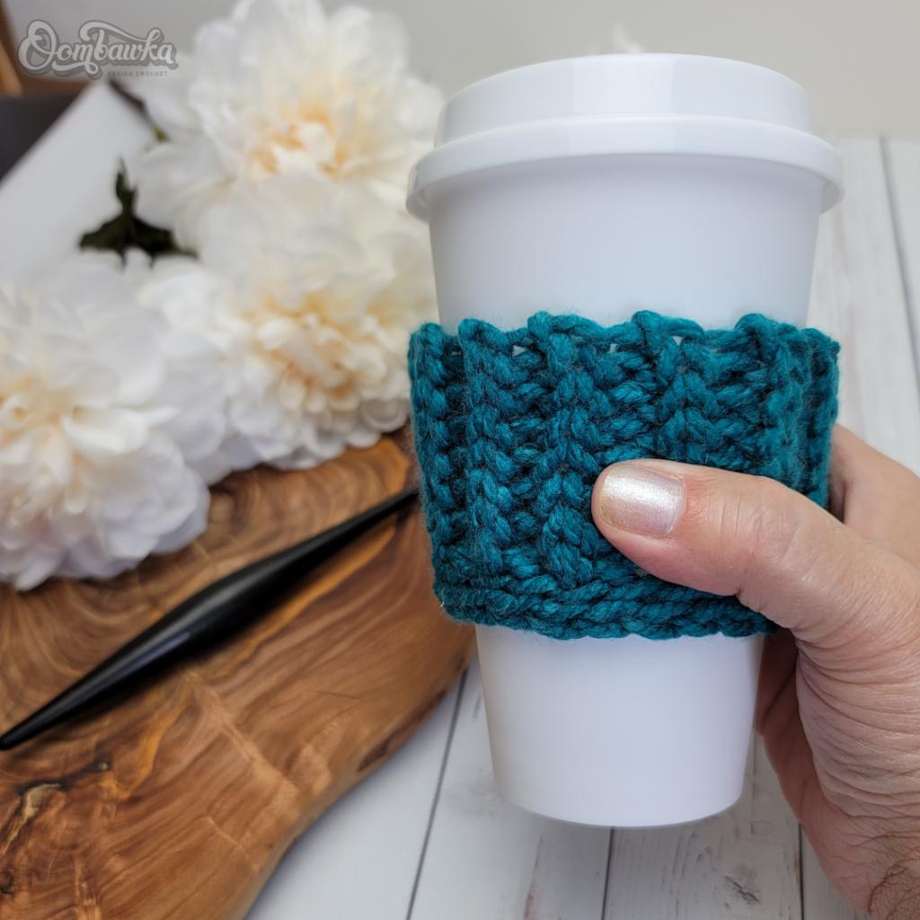 Skinny Coffee Cup Sleeve Pattern