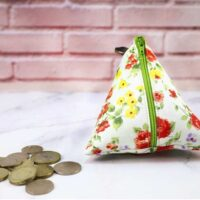 Triangle Coin Purse - Party 416
