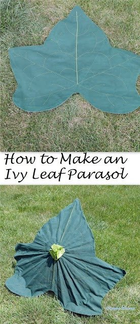 Wednesday Link Party 414. Fairy Leaf Ivy Parasol